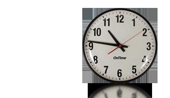 بو ساعة الحائط التناظرية