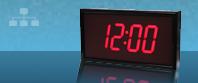 الساعة متزامنة